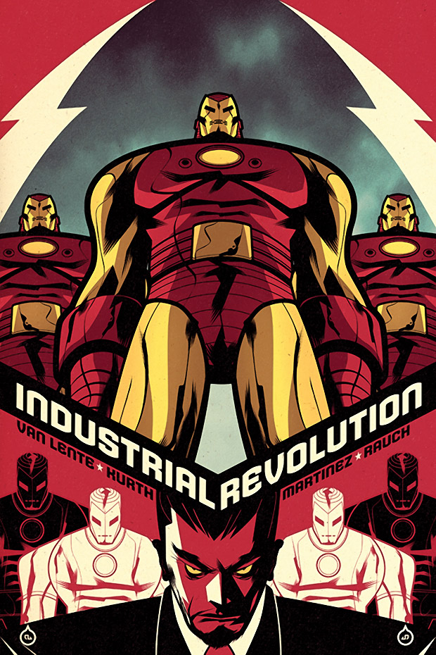 Iron Man Legacy Industrial Revolution Covers