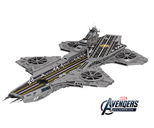 Massive LEGO Avengers Helicarrier on LEGO Ideas