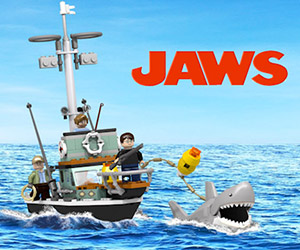 LEGO Jaws Set: Everybody Out of the Water!