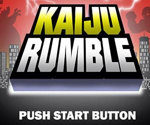 Kaiju Battles a la Nintendo Street Fighter