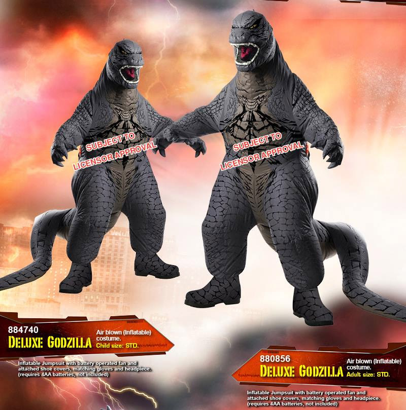 Godzilla Costumes On the Way for Halloween