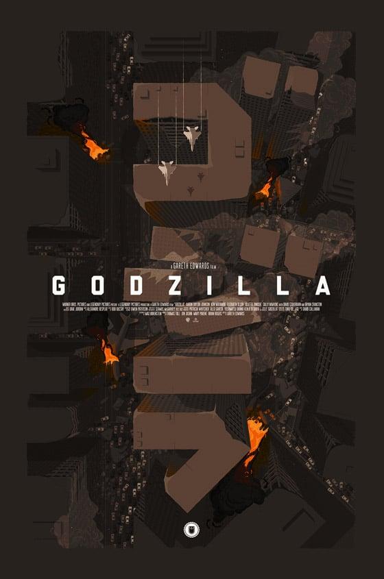 Godzilla Alternative Movie Posters