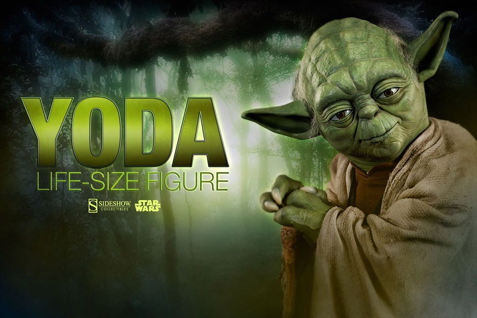 Star Wars Yoda Life-Size Collectible Figure