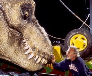 Jurassic Park: Rehearsing with the Animatronic T-Rex