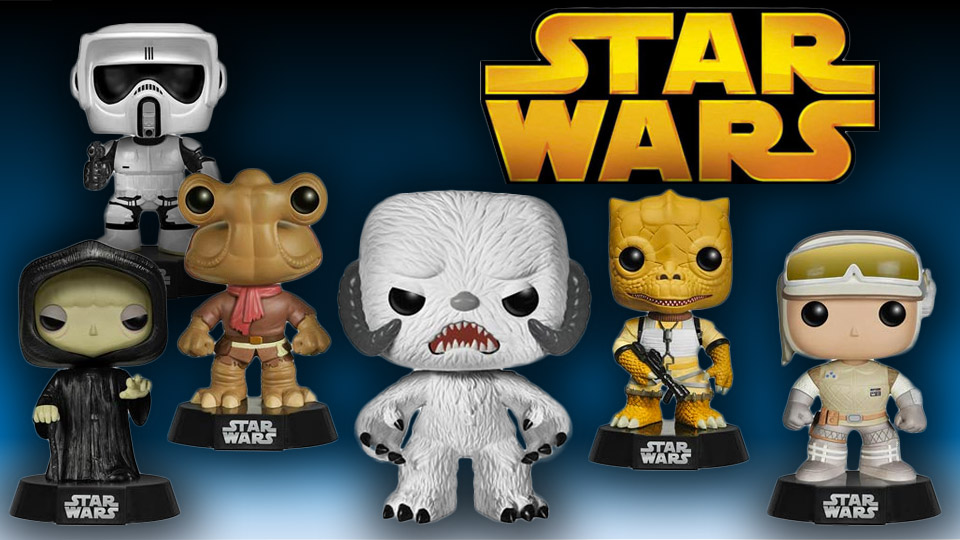 New Star Wars Funko Bobble Heads Announced