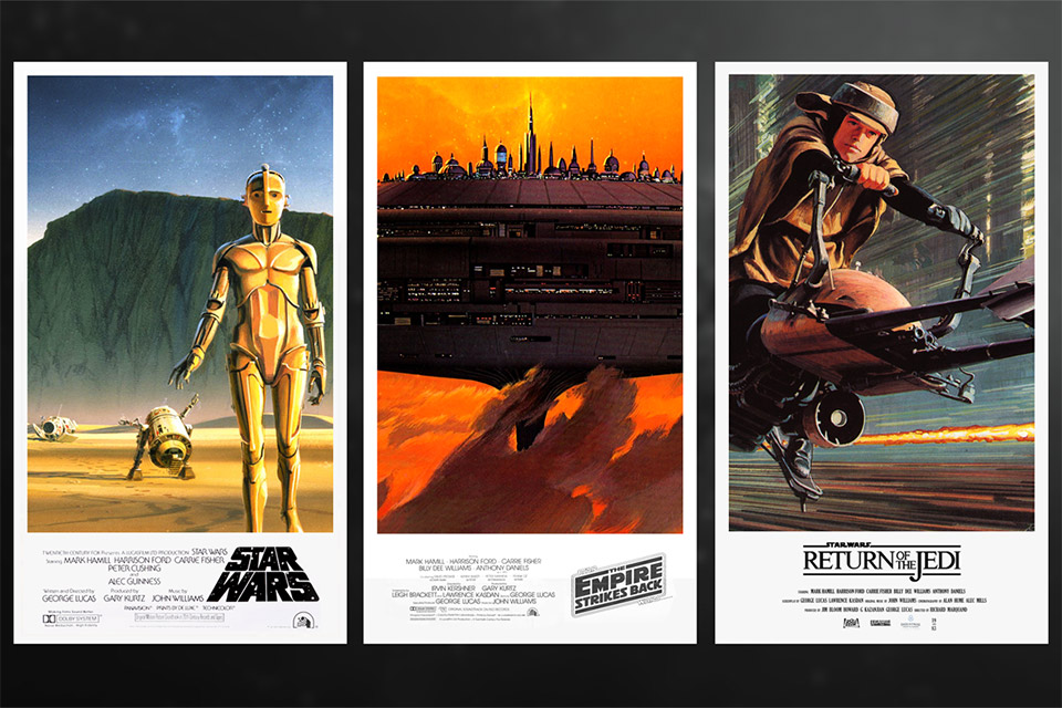 Star Wars Trilogy Posters, Ralph McQuarrie Style