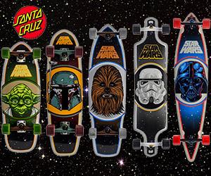 Star Wars Santa Cruz Skateboards