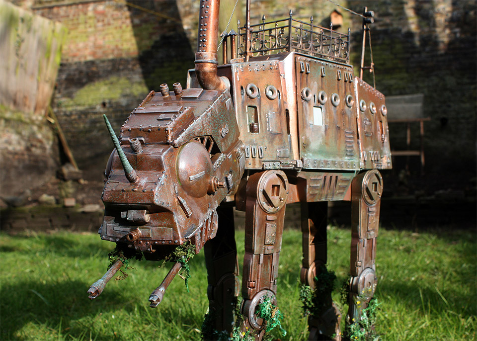 Star Wars: Incredible Steampunk AT-AT Walker