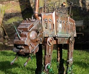 Star Wars: Incredible Steampunk AT-AT Walker