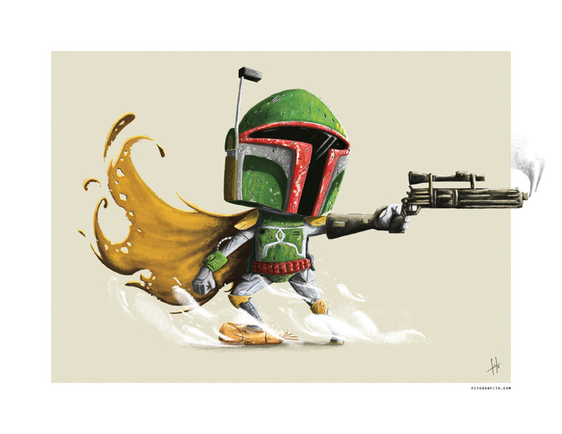 Adorable Star Wars Poster Series