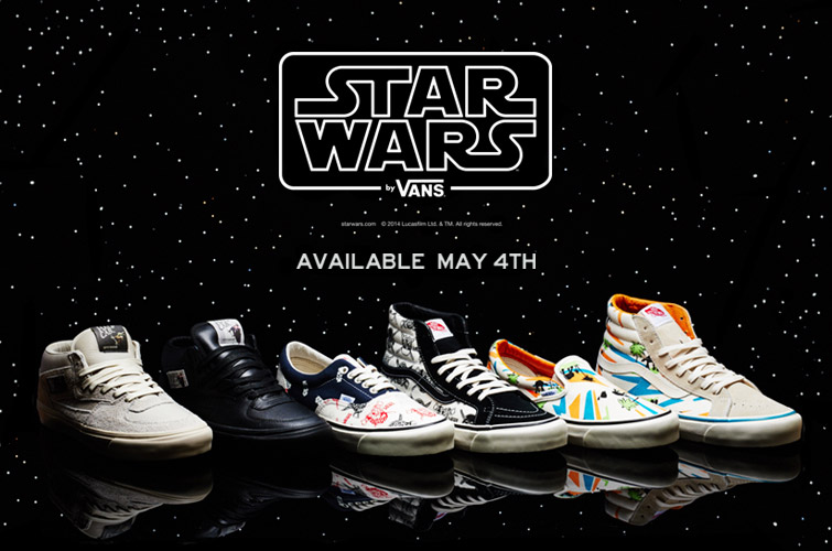Limited Edition Star Wars Vans Sneakers