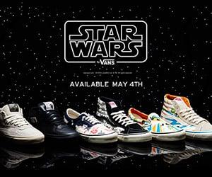 Limited Edition Star Wars Vans Sneakers