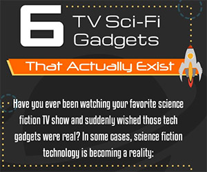 6 Real Gadgets from Sci-Fi Television Shows