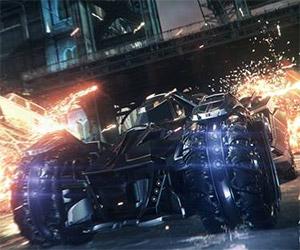 Batman: Arkham Knight Batmobile Goes to Battle