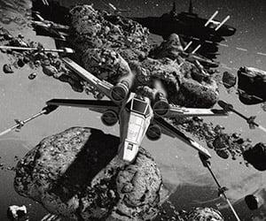 Star Wars Fighter Battle Artwork