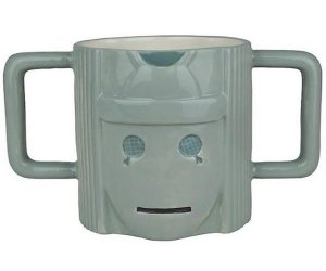 Doctor Who Cyberman Figure Mug