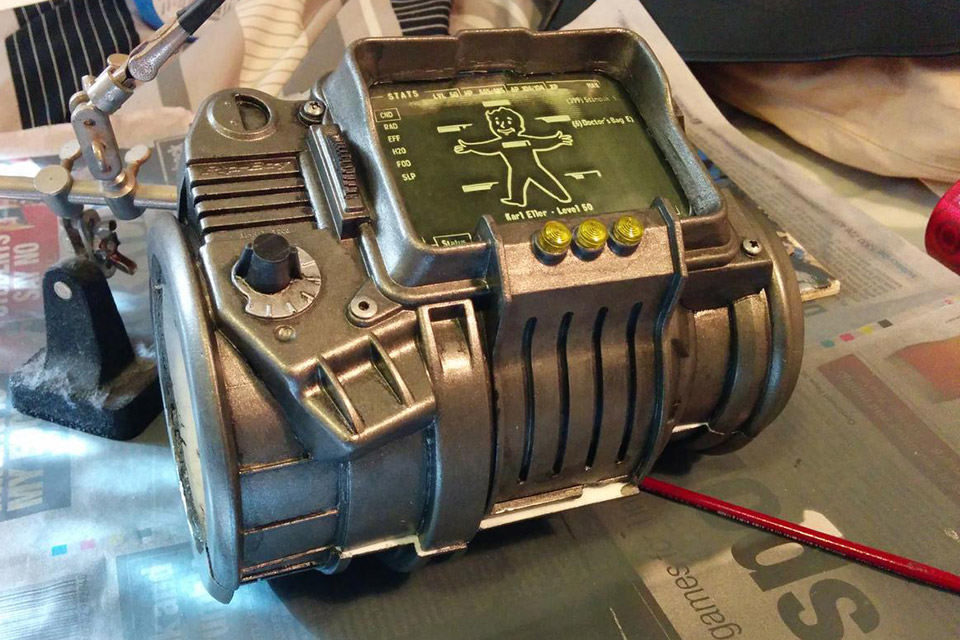 how to get pip boy 3000