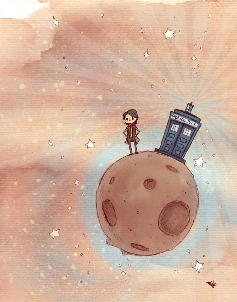 Charming Doctor Who Illustrations