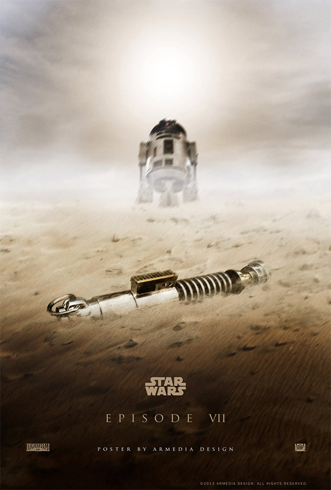 Cool Star Wars Episode VII Fan-Made Poster