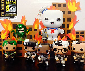 Funko Pop! SDCC Ghostbusters Exclusives