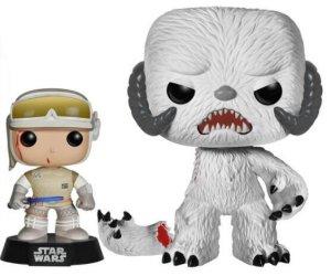 Funko Luke Skywalker Hoth And Wampa POP! Set