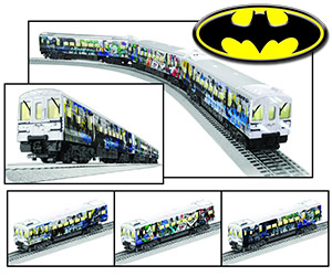 Gotham City Subway Batman Electric Train