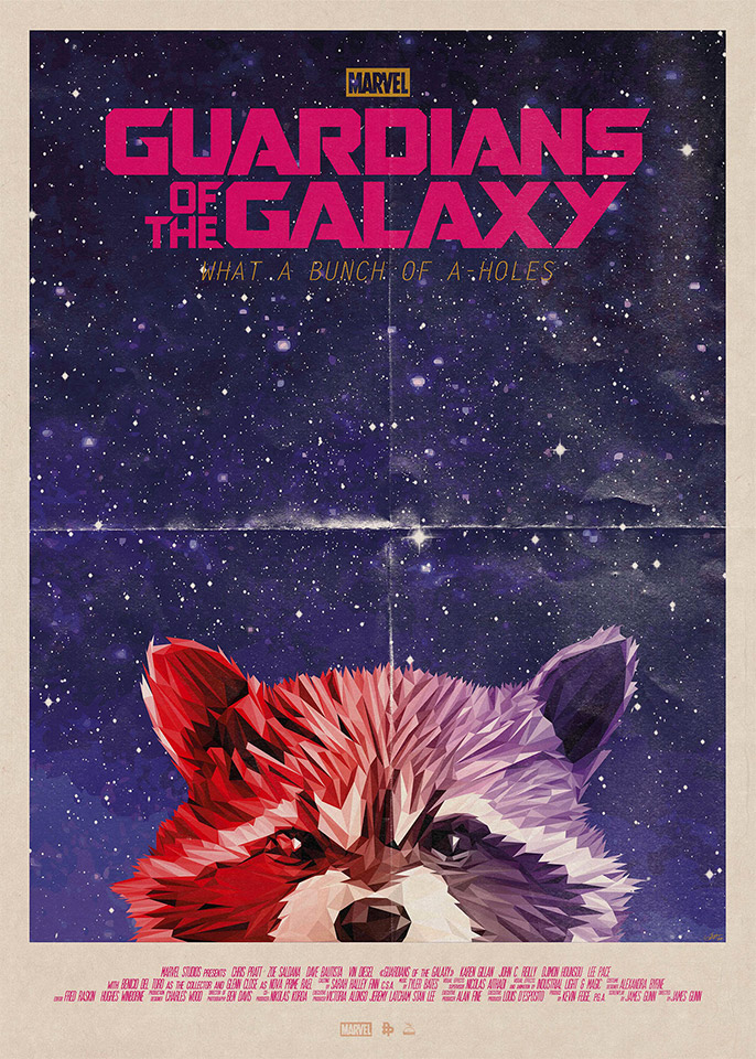 Guardians of the Galaxy: What a Bunch of A-Holes Art