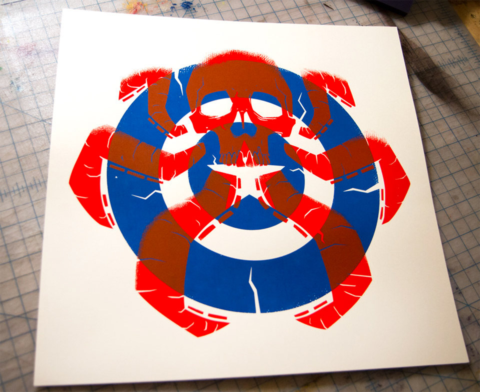 Hail Hydra: Limited Edition Screen Print