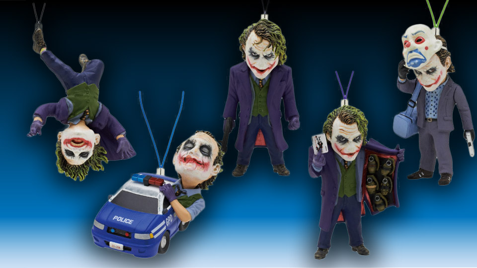 Heath Ledger as The Joker Charms from Japan