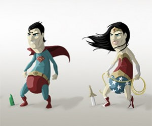 Hot Dog Heroes: Justice League