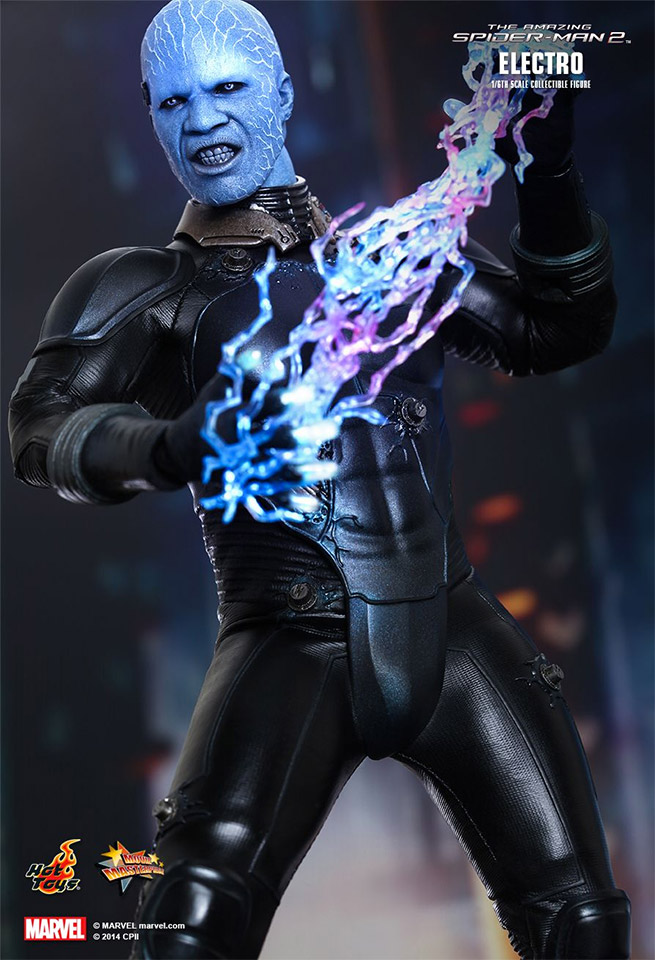 Hot Toys Introduces Incredible Electro 1/6th Scale Collectible
