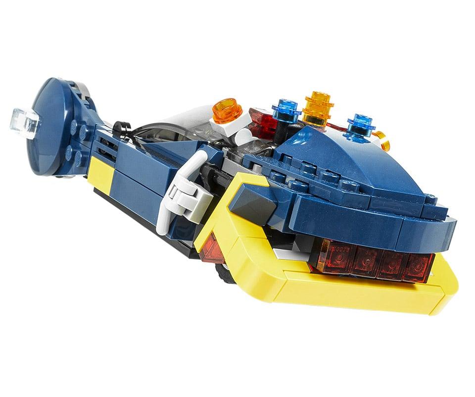 Blade Runner LEGO Police Spinner Flying Car - MightyMega
