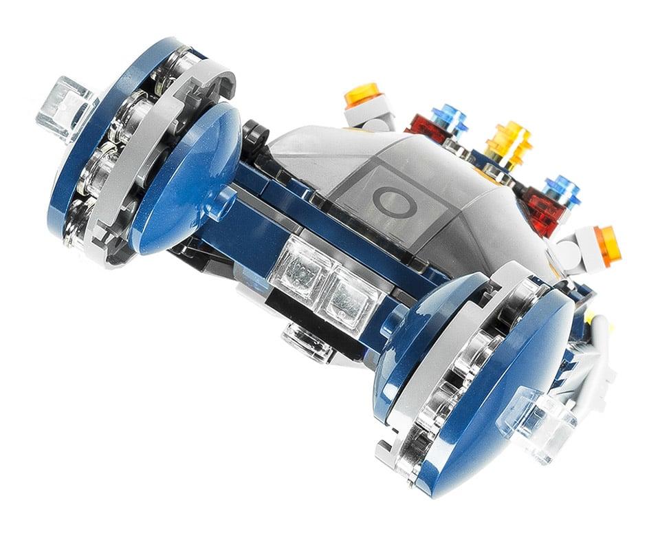 Blade Runner LEGO Police Spinner Flying Car