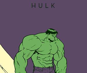 Marvel Superhero Fan Art Series