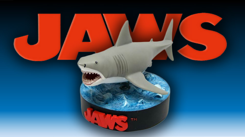 Jaws Bruce Bobble Head Shark Rises from the Deep
