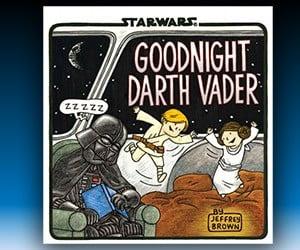 Goodnight Darth Vader: New Jeffrey Brown Star Wars Book