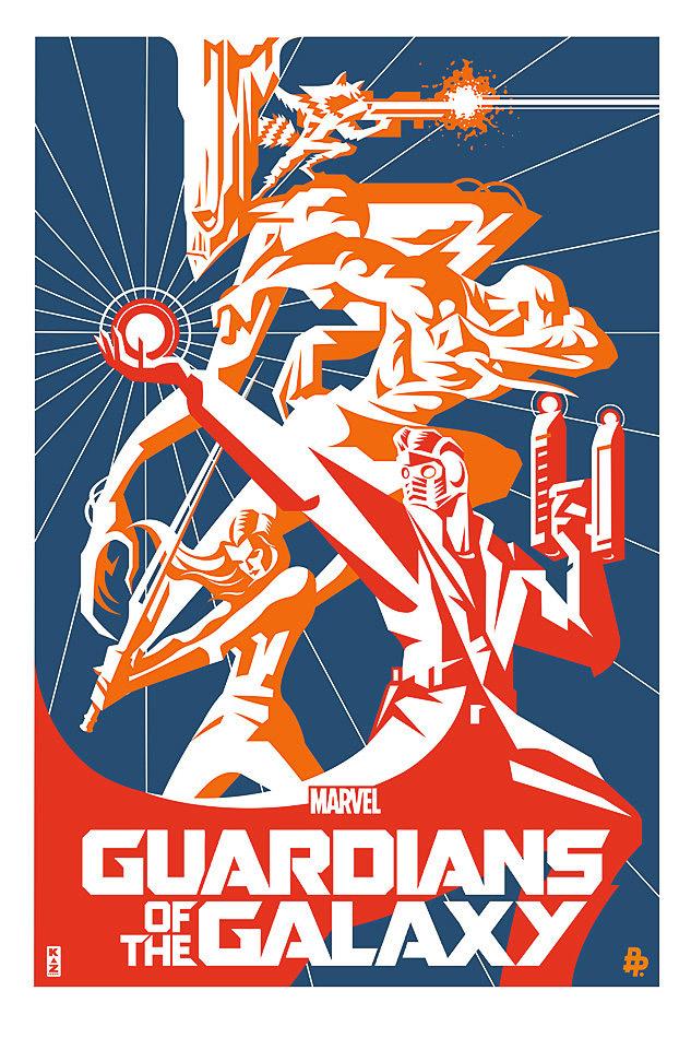 Guardians of the Galaxy Alternative Artwork
