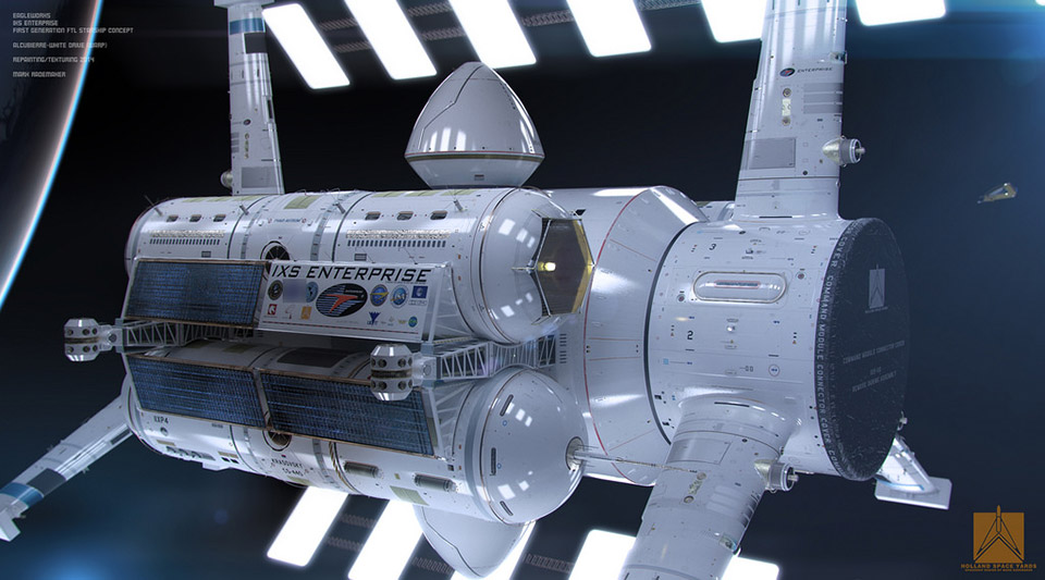 new nasa spaceship warp designs - photo #2