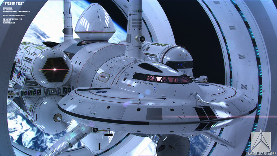 NASA's Design for a Faster-Than-Light Spaceship
