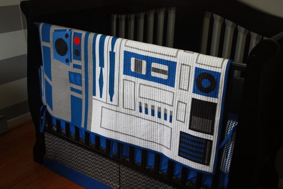 R2 D2 Star Wars Baby Bedding Mightymega