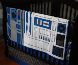 R2-D2 Star Wars Baby Bedding