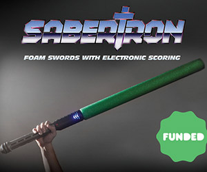 Sabertron: Kickstarter-Funded Foam Swords