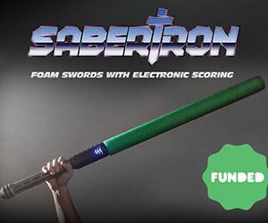 Sabertron: Kickstarter-Funded Foam Swords