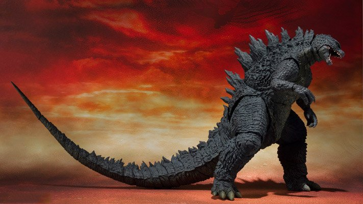 Godzilla 2014 Movie S.H. MonsterArts Action Figure