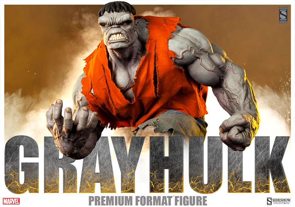 Menacing Gray Hulk Premium Format Collectible