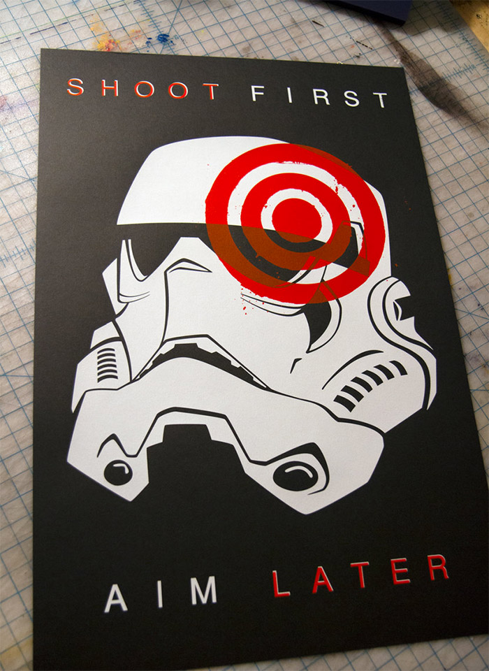 Star Wars Stormtrooper: Shoot First, Aim Later