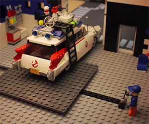 Stop Motion: Building the LEGO Ghostbusters Ecto-1