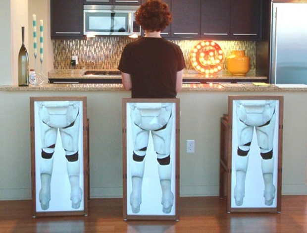 Bar Stools Make You Half a Stormtrooper
