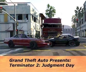 Terminator 2 Chase Scene in Grand Theft Auto V
