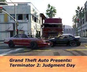 Terminator 2 Chase Scene in Grand Theft Auto V